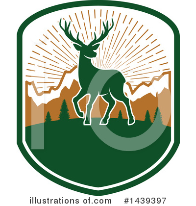 Deer Clipart #1439397 by Vector Tradition SM