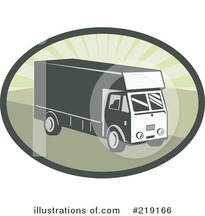 Delivery Van Clipart #219166 by patrimonio