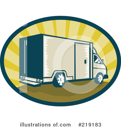Delivery Van Clipart #219183 by patrimonio