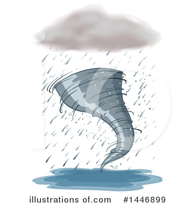 Tornado Clipart #1446899 by Graphics RF