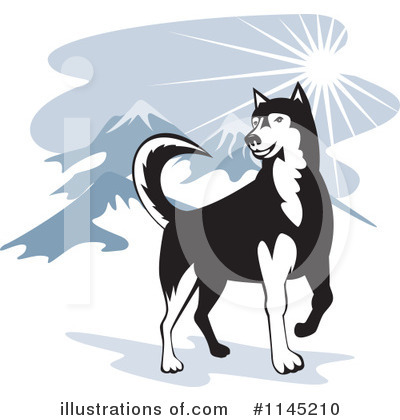 Dog Clipart #1145210 by patrimonio