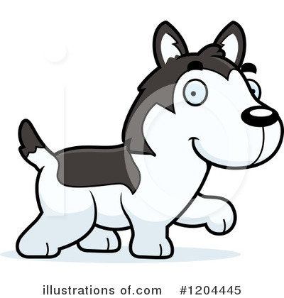 Dog Clipart #1204445 by Cory Thoman