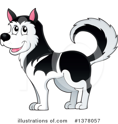 Dog Clipart #1378057 by visekart