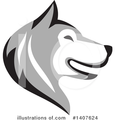 Dog Clipart #1407624 by patrimonio