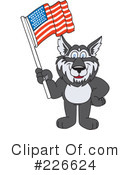 Husky Mascot Clipart #226624 by Toons4Biz