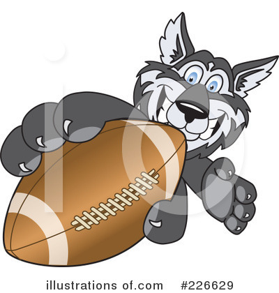 Husky Mascot Clipart #226629 by Toons4Biz