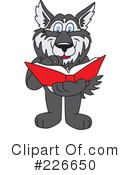 Husky Mascot Clipart #226650 by Toons4Biz