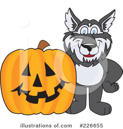 Husky Mascot Clipart #226655 by Toons4Biz
