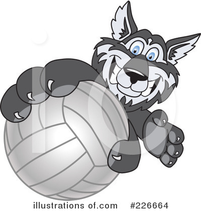 Husky Mascot Clipart #226664 by Toons4Biz