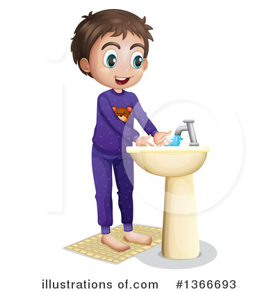 Hand Washing Clipart #1366693 by Graphics RF