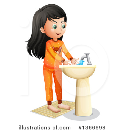 Hand Washing Clipart #1366698 by Graphics RF