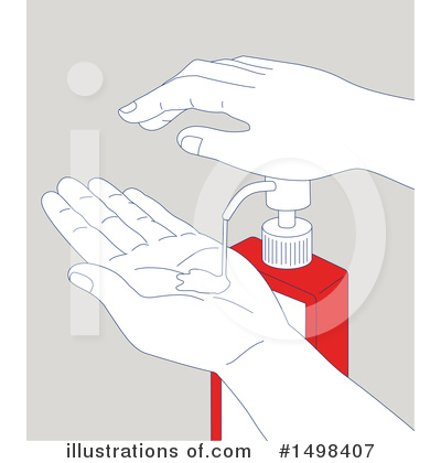 Hand Washing Clipart #1498407 by patrimonio