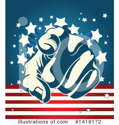Uncle Sam Clipart #1418172 by Pushkin
