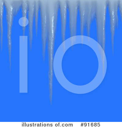 Icicles Clipart #91685 by Arena Creative
