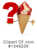 Ice Cream Character Clipart #1346236 by Julos