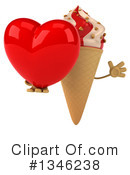 Ice Cream Character Clipart #1346238 by Julos