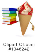Ice Cream Character Clipart #1346242 by Julos