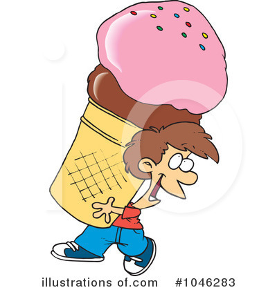 Ice Cream Clipart #1046283 by toonaday