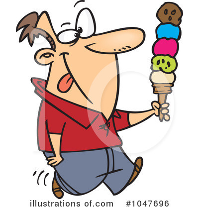 Ice Cream Clipart #1047696 by toonaday
