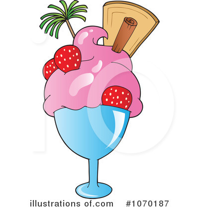 Strawberry Clipart #1070187 by visekart