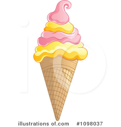Ice Cream Clipart #1098037 by visekart