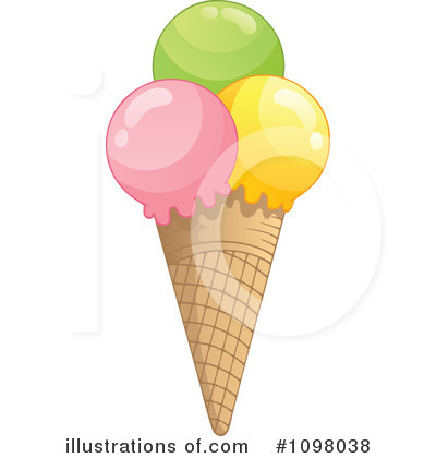 Ice Cream Clipart #1098038 by visekart