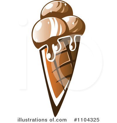 Ice Cream Clipart #1104325 by Vector Tradition SM