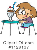 Royalty-Free (RF) Ice Cream Clipart Illustration #1129137