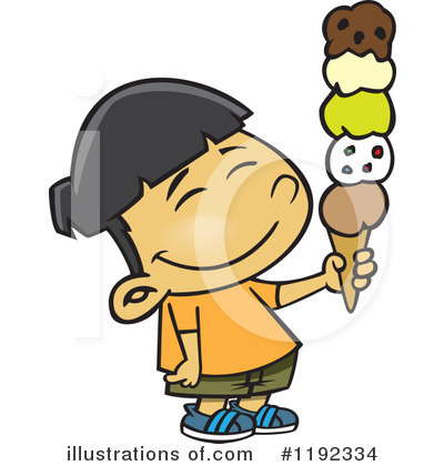 Ice Cream Clipart #1192334 by toonaday