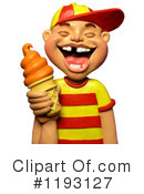Royalty-Free (RF) Ice Cream Clipart Illustration #1193127