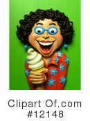 Royalty-Free (RF) Ice Cream Clipart Illustration #12148