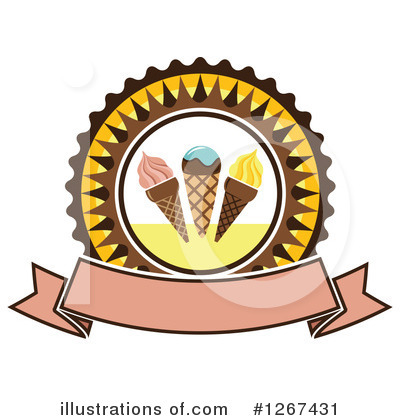 Ice Cream Clipart #1267431 by Vector Tradition SM
