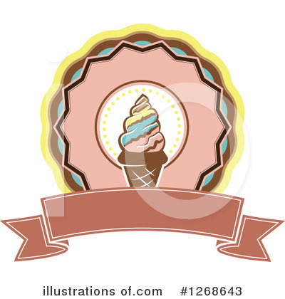 Ice Cream Clipart #1268643 by Vector Tradition SM