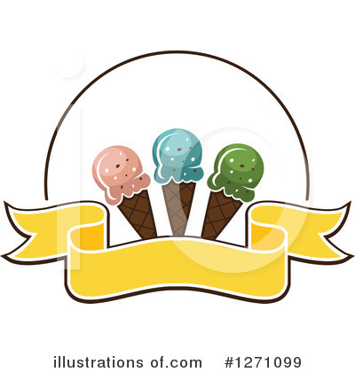 Ice Cream Clipart #1271099 by Vector Tradition SM