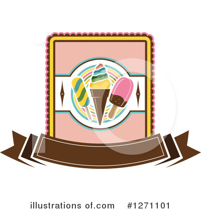 Ice Cream Clipart #1271101 by Vector Tradition SM