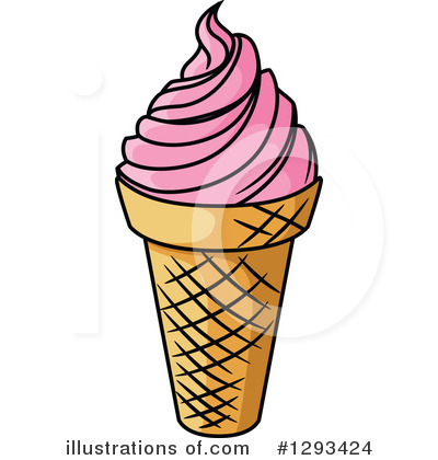Ice Cream Clipart #1293424 by Vector Tradition SM