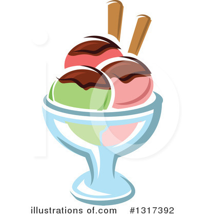 Ice Cream Clipart #1317392 by Vector Tradition SM