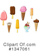 Ice Cream Clipart #1347061 by Vector Tradition SM