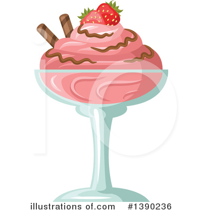Food Clipart #1390236 by Vector Tradition SM