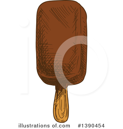 Popsicle Clipart #1390454 by Vector Tradition SM