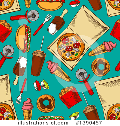 Popsicle Clipart #1390457 by Vector Tradition SM