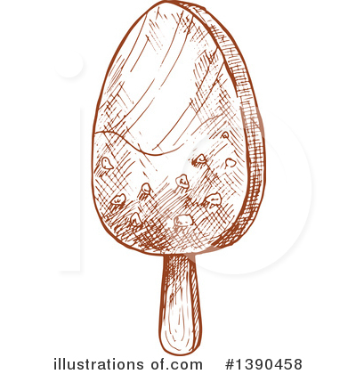 Popsicle Clipart #1390458 by Vector Tradition SM