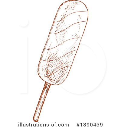 Popsicle Clipart #1390459 by Vector Tradition SM