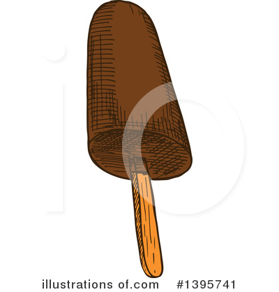 Popsicle Clipart #1395741 by Vector Tradition SM