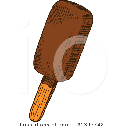 Popsicle Clipart #1395742 by Vector Tradition SM