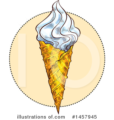 Ice Cream Clipart #1457945 by Vector Tradition SM