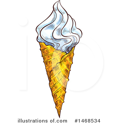 Ice Cream Clipart #1468534 by Vector Tradition SM