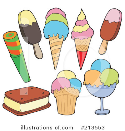 Ice Cream Clipart #213553 by visekart