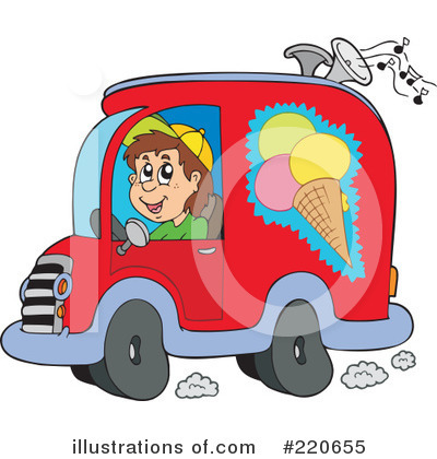 Ice Cream Clipart #220655 by visekart
