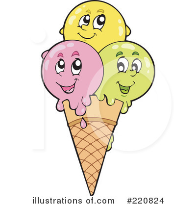 Ice Cream Clipart #220824 by visekart